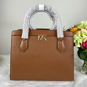 MICHAEL KORS MONTGOMERY LARGE SATCHEL BAG